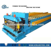 Metal Profile Step Roof Tile Sheet Making Machine For Sale, Glazed Tile Sheet Roll Forming Machine
