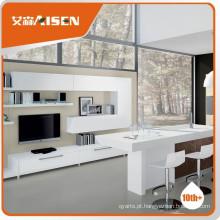 Design estável do gabinete tv lcd de desempenho estável