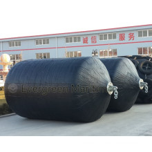 China Unique Manufacturer High-performance Rubber foam (EVA) filled fender( Updated Polyurethane coating foam fender)