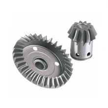 Transmisi Steel Custom Spiral Pinion Bevel Gear