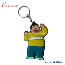 Porte-clés caoutchouc 3D personnalisé homme fort pour la Promotion