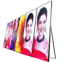 P1.667 Exhibición portátil interior del cartel del espejo de la publicidad LED