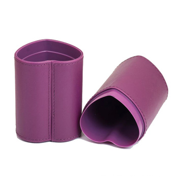 Herzform-Bürsten-Glas, Bürsten-Halter, Verfassungs-Bürsten-Halter