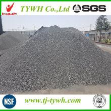 Aditivo carbonatado de carbón antracita calcinado para la fabricación de acero