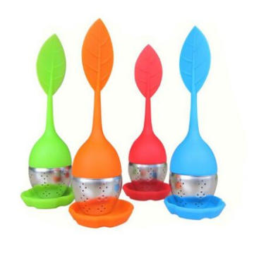 Silicone Tea Infuser, Stainless Steel Infuser, Tea Strainer, Tea Filter