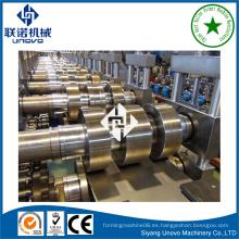 Tubo de downspout de metal tubo frío que forma la máquina