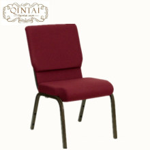 Factory supply metal interlock church chair for auditorium