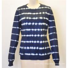 Custom Patterned Pullover Knitting Women Sweater