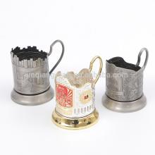 O preço de fábrica quente da venda aceita o suporte de copo feito sob encomenda do café do metal da ordem