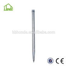 high quality low cost Hot-dip Galvanized Q235 ground screws for Solar Mounting