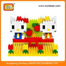 Heißer Verkauf LOZ kleine Partikel-Diamant DIY Originalität Spleißen Spielzeug-Block-Miezekatze