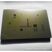 Poli de Machine d'impression de finition Pad épais / mince tôle d'acier