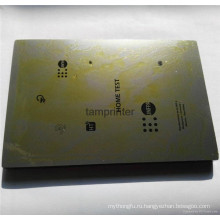 Полированной отделкой толстые / тонкая Pad печатная машина стальной плиты