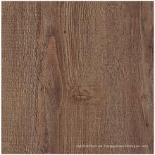 Suelo de PVC de madera de lujo para uso residencial
