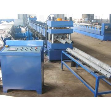 Aluminium Galvaniserad Highway Guard Roll Forming Machine