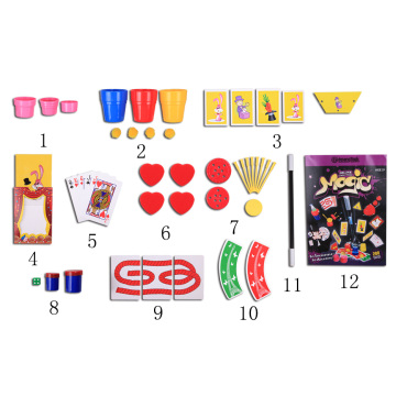Popular easy learn magic trick set for kids