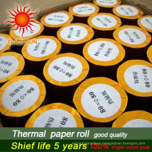 Hot sale items 80x80 thermal paper rolls thermal roll paper
