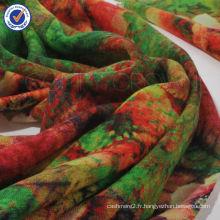 SWW718 écharpe d'impression numérique de haute qualité châle 2015 nouvelle écharpe d'écharpe pure de laine en gros