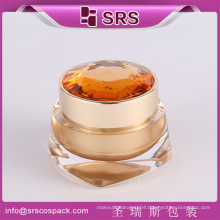 SRS plastic container ,plastic jar ,plastic cosmetic jar for face