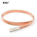 Braid earth straps flexible copper braiding shunt grounding bar