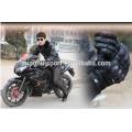 Luvas de pele de cabra pugilista motocicleta equitação luvas motocross luvas de corrida