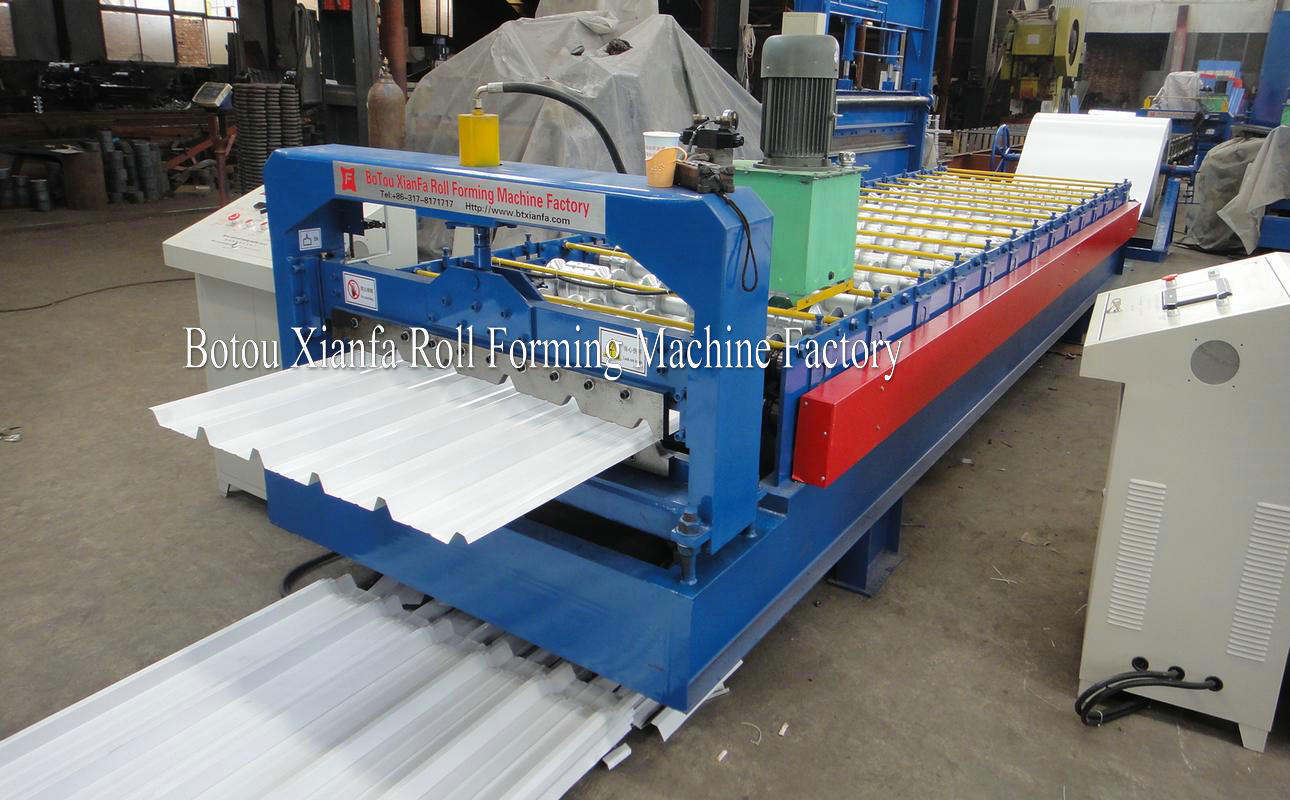 metal roof panels machine