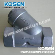 Сетчатый фильтр с резьбой Y-образного типа из нержавеющей стали (YG11)