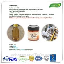 Flores Miel pura miel cruda natural OEM
