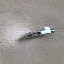 Piezas de repuesto CNC de aluminio de precisión Disipador de calor