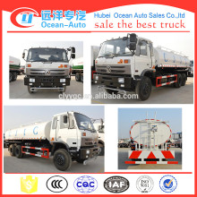 High quality 6X4 DONGFENG 18000L water tank truck price