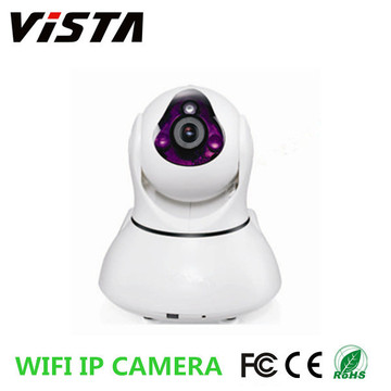 720p HD P2P Wifi Pan Tilt Ir Ip caméra message d'alerte