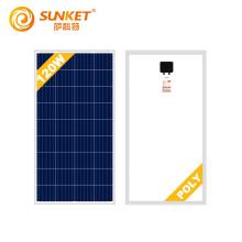 Polykristallines 120-Watt-Solarpanel mit vollständigen Zertifikaten