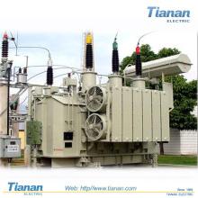Transmissão de potência / Transformador de distribuição Step Down Tipo de Imersão de óleo / Transformador eletrônico