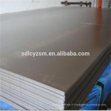 Plaques d'acier ASTM A36