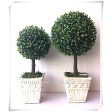 Artificial grass ball tree wholesale bonsai trees