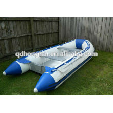 PVC inflatable fishing boats for sale