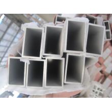 6061 t6 rectangle aluminium en poudre en poudre couleur blanc laiteux