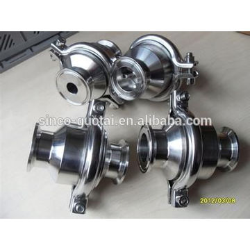 flanged end ball type sanitary check valve