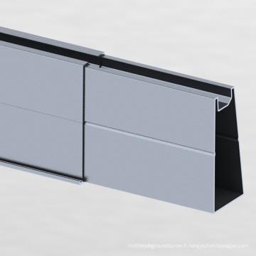 Système de montage de carport solaire hors réseau 500KW en forme de Y