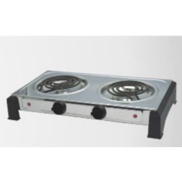 2 горелки настольная электрическая плита