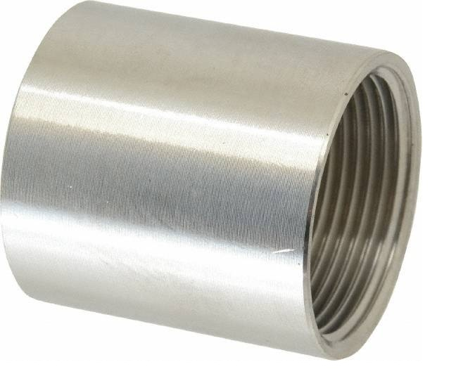 GALV. HEAVY STEEL COUPLING
