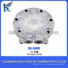 Auto a / c CAR AIR refrigerante 134 compresor V5 tapa trasera cabeza trasera