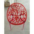 Chaise coque en couleur blanche XYN2752
