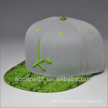 High quality flat bill snap back hats