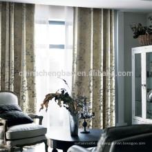 Home Dekoration dicken schweren Vorhang Stoff Haus Luftschleier