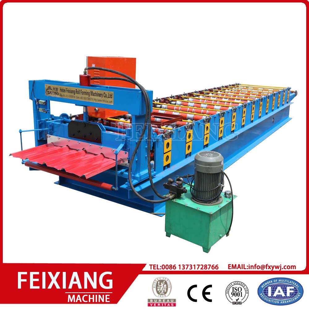 roof and wall panels roll forming machine