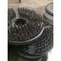 15inch Stainless Steel Wire Brush for Hull Cleaning Machinery