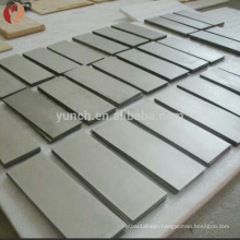 Pure niobium price per kg niobium sheet price