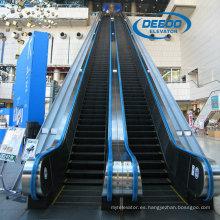 Escalera mecánica de interior Vvvf con paso de aluminio