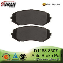 D1188-8307 Semi-metallic Brake Pad for Suzuki GRAND VITARA and